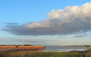 Remains of Port Carlisle harbour