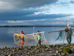 Haafnet fishing in the Solway