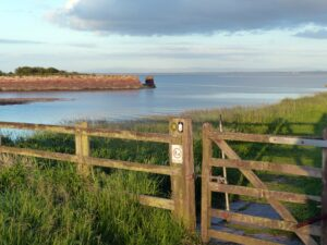 Port Carlisle old harbour