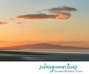 Sunset on Criffel from the Secret Solway coast
