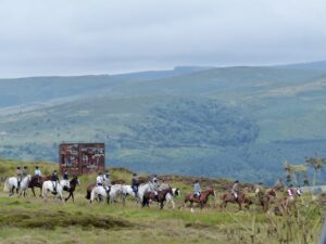 Riding the boundaries a Borders tradition